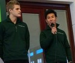 """最新速報。2014年1月小林可夢偉 ケータハムシート契約決定を発表。同時にスポンサー""""グッドスマイルカンパニー""""を発表。"""