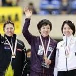 スピードスケートソチ代表選考会にてソチオリンピック代表男子、女子決定。男子長嶋選手、加藤選手、女子小平選手、辻選手も出場。