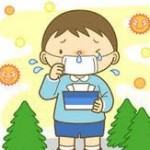 花粉(花粉症)の時期。現在の花粉情報状況。花粉症対策として花粉症に効く食品(食べ物)を公開します。