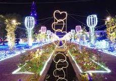 福岡、長崎など九州のクリスマスイルミネーション、クリスマスツリー。お勧めはハウステンボス、ベイサイド、稲佐山など。